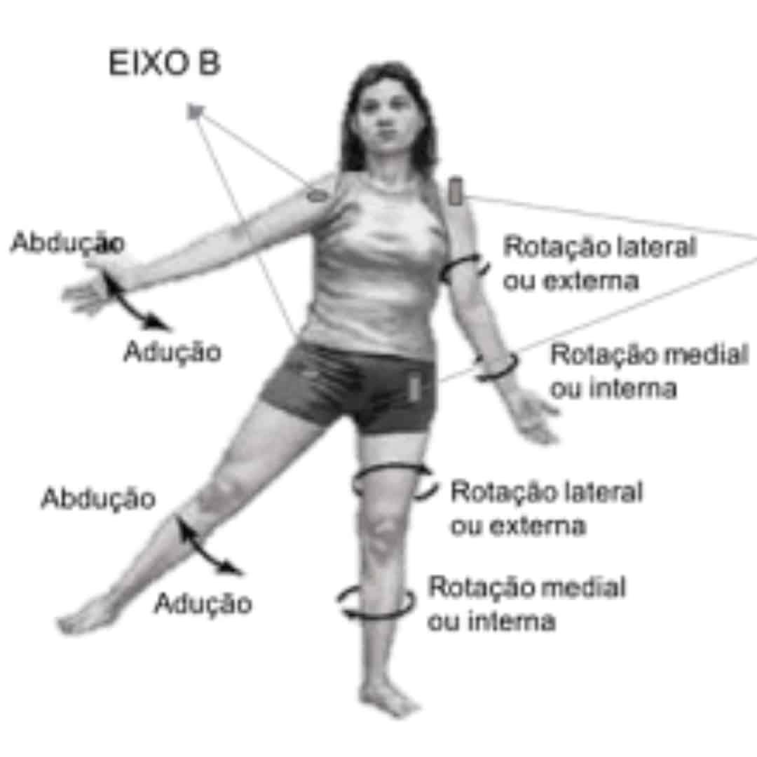 Movimentos do corpo humano